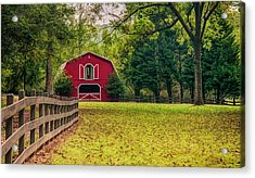 Red Barn 2 Acrylic Print