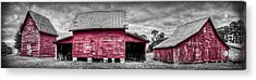 Acrylic Print featuring the photograph Red Barns At Windsor Castle by Williams-Cairns Photography LLC