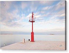 Red Beacon Acrylic Print