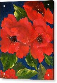 Red Beauty Acrylic Print by Joni McPherson