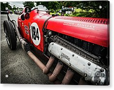 Red Bentley Acrylic Print