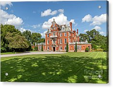 Red Brick Mansion Acrylic Print by Adrian Evans
