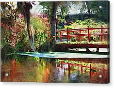Red Bridge Acrylic Print