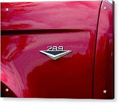 Red Bronco 289 Acrylic Print