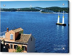 Red Bull Air Show, Rovinj, Croatia Acrylic Print