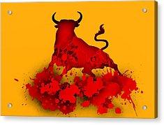Red Bull.1 Acrylic Print