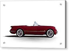 Red C1 Convertible Acrylic Print