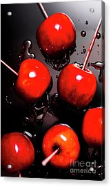 Red Candy Apples Or Apple Taffy Acrylic Print by Jorgo Photography - Wall Art Gallery