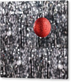 Acrylic Print featuring the photograph Red Christmas  by Ulrich Schade