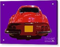 Red Classic Emd Acrylic Print