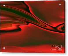 Red Clouds Acrylic Print by Christian Simonian