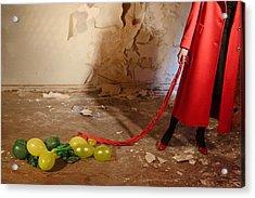 Red Coat #4810 Acrylic Print
