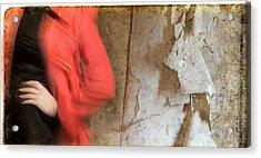 Red Coat #4820 Acrylic Print
