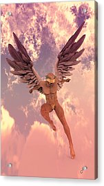 Red Currant Angel Acrylic Print by Joaquin Abella