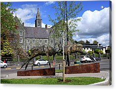 Red Deer Sculpture, Killarney, County Kerry, Ireland Acrylic Print