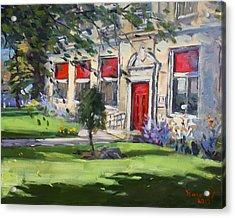 Red Door At The Nacc Acrylic Print