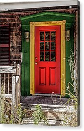 Red Door Acrylic Print