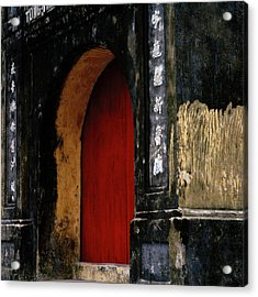 Red Doorway Acrylic Print
