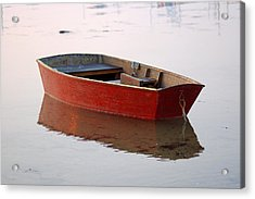 Red Dory Acrylic Print