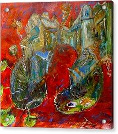 Red Dream Acrylic Print