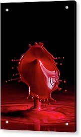 Red Drop Acrylic Print