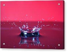 Red Drop Acrylic Print