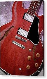 Red Es-335 Acrylic Print