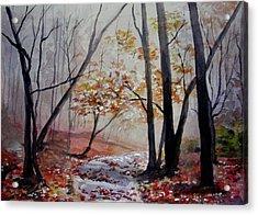 Red Evrywhere  Acrylic Print