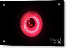 Red Flash Acrylic Print