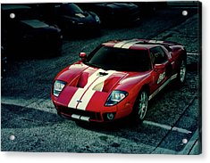 Red Ford Gt Acrylic Print