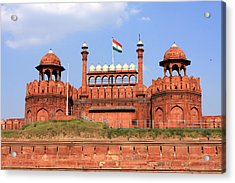 Red Fort New Delhi Acrylic Print