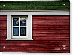 Acrylic Print featuring the photograph Red Green by Brad Allen Fine Art