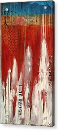 Red Holiday Acrylic Print