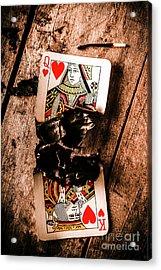 Red Hot Blackjack Acrylic Print