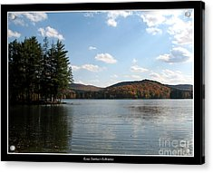 Acrylic Print featuring the photograph Red House Lake Allegany State Park Ny by Rose Santuci-Sofranko