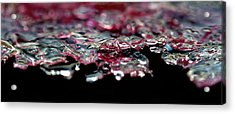 Acrylic Print featuring the photograph Red Ice by Rico Besserdich