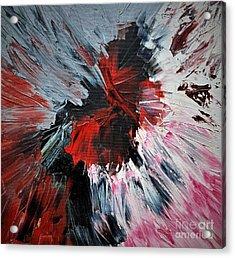 Red Impaso Acrylic Print