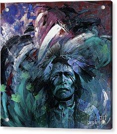 Red Indians 87u Acrylic Print