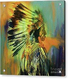 Red Indians Uio Acrylic Print