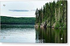 Red Lake Ontario Acrylic Print