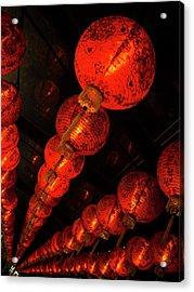 Red Lantern Acrylic Print
