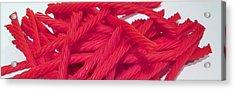 Red Licorice  Acrylic Print