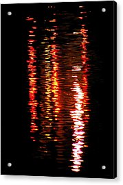 Acrylic Print featuring the photograph Red Light by David Dunham