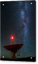 Acrylic Print featuring the photograph Red Light District by Sean Foster