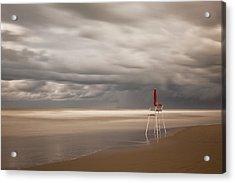 Red Acrylic Print by Massimo Della Latta