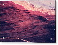 Red Ocean Acrylic Print by Ryan Kelly
