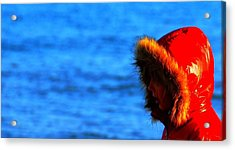 Acrylic Print featuring the photograph Red Parka by Votus