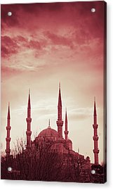 Acrylic Print featuring the photograph Red Peace by Joseph Westrupp