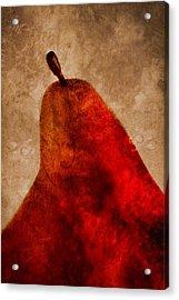 Red Pear II Acrylic Print