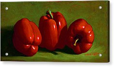 Red Peppers Acrylic Print